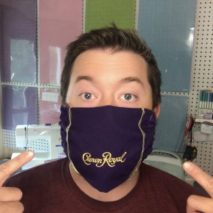 Crown royal mask