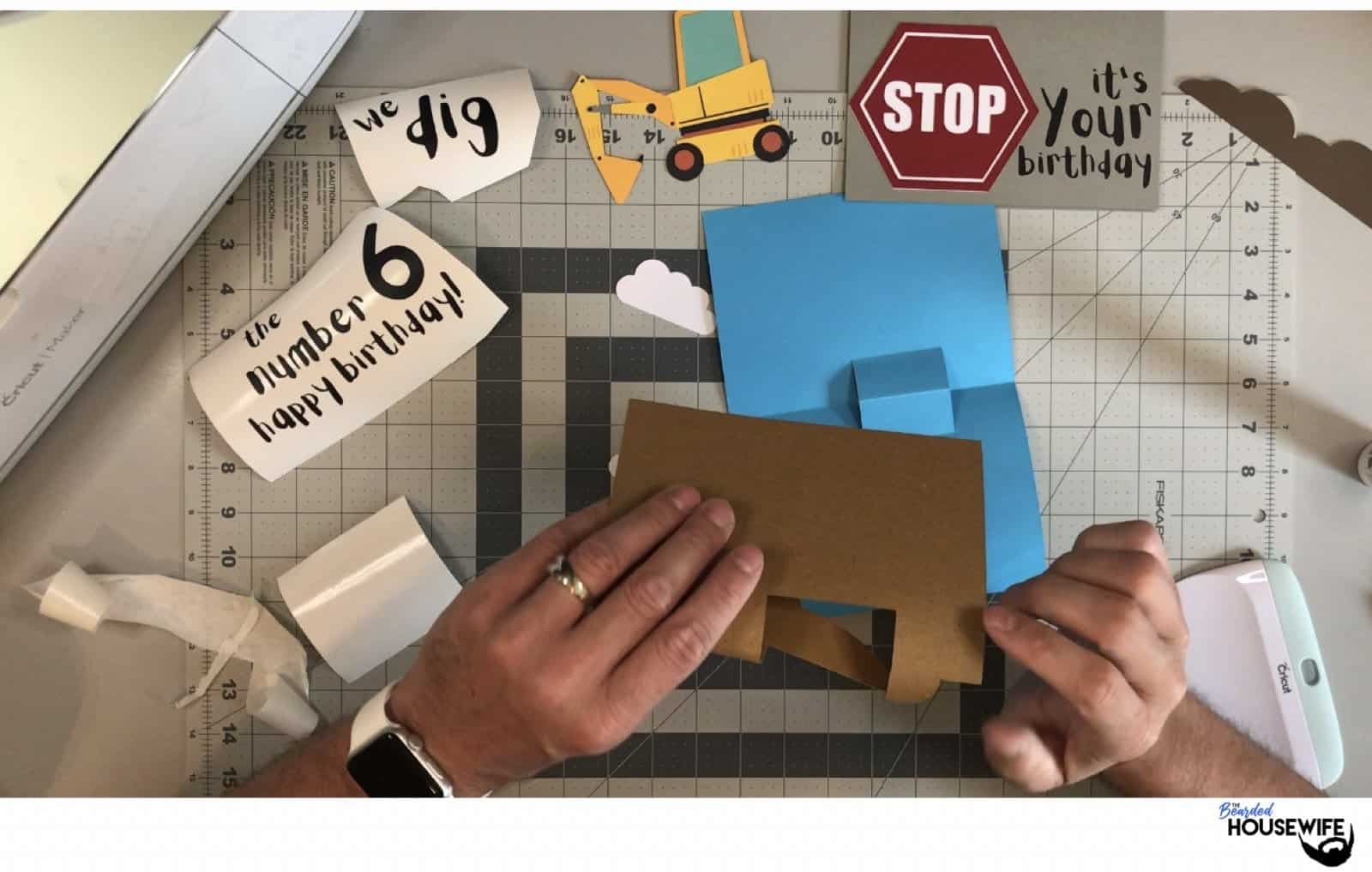 construction card