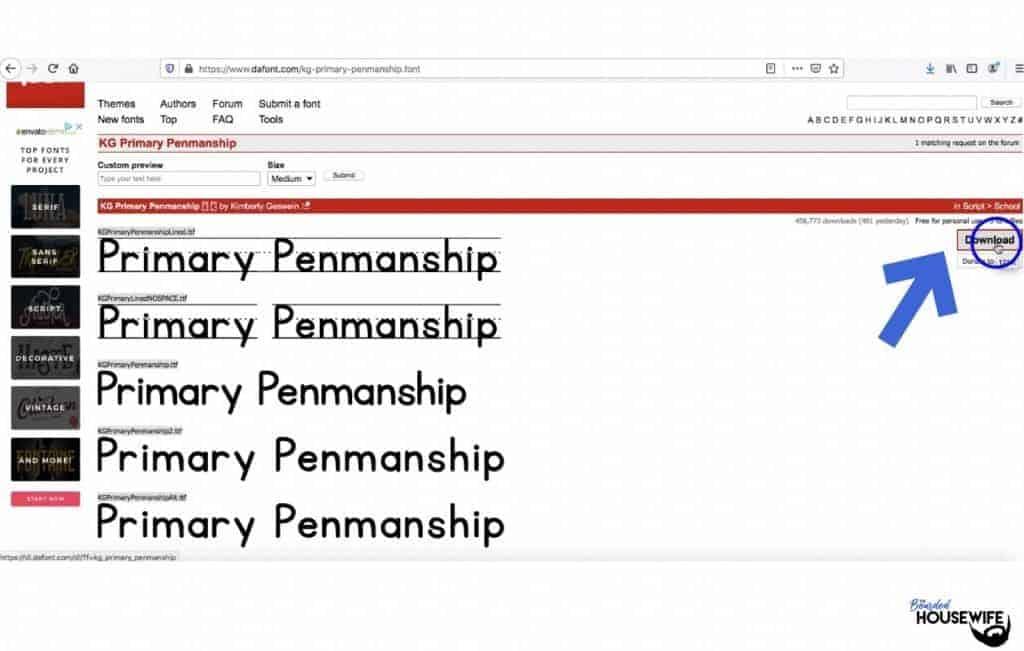 upload fonts design space
