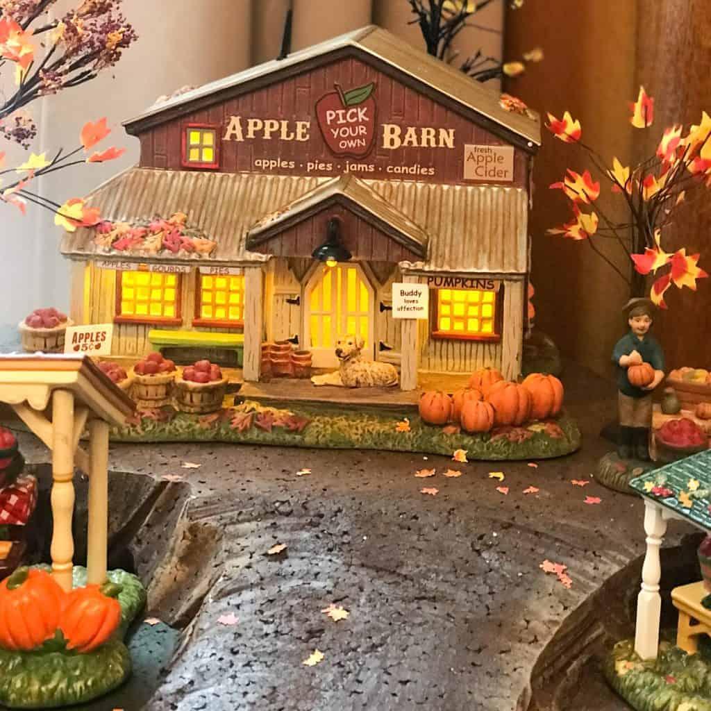 fall village