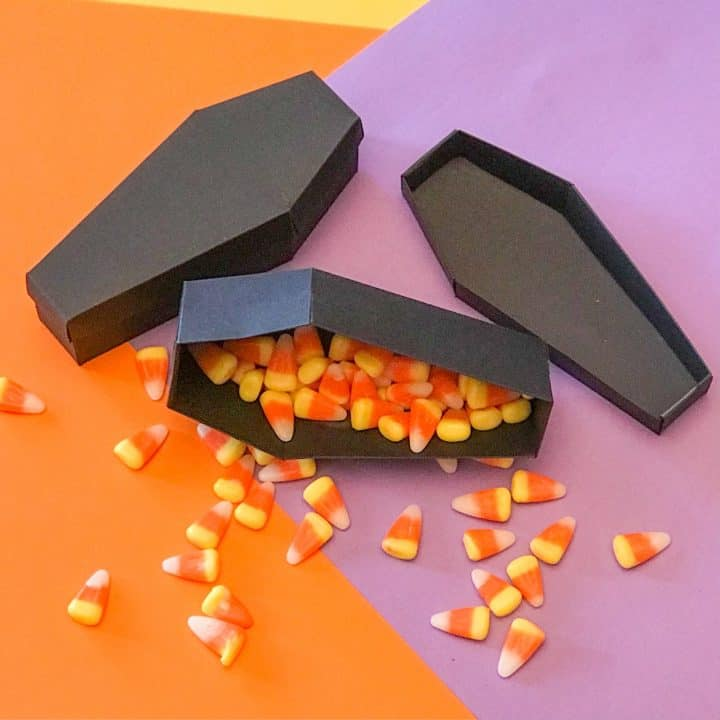 Easy Coffin Treat Boxes