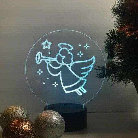 DIY Christmas Engravings on Acrylic