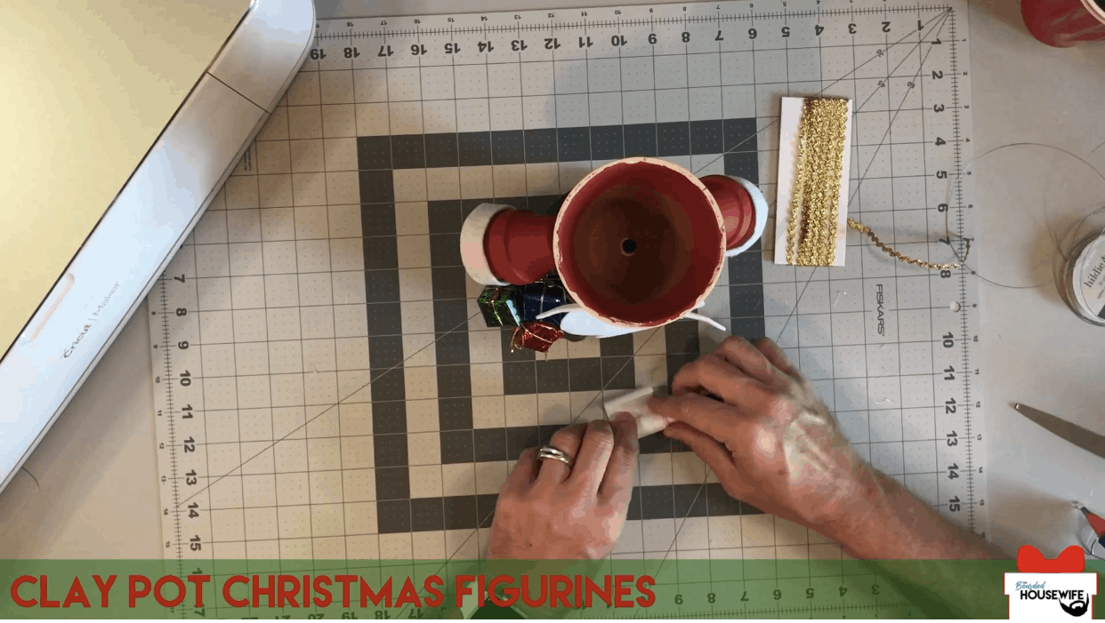 roll the nice list up using the cricut pen