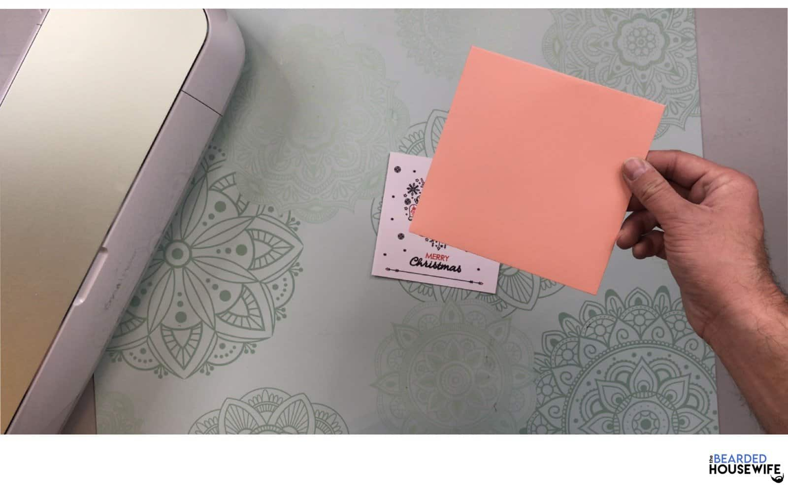 create an envelope using the template in your download