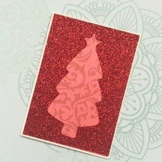 Cutout Christmas Cards