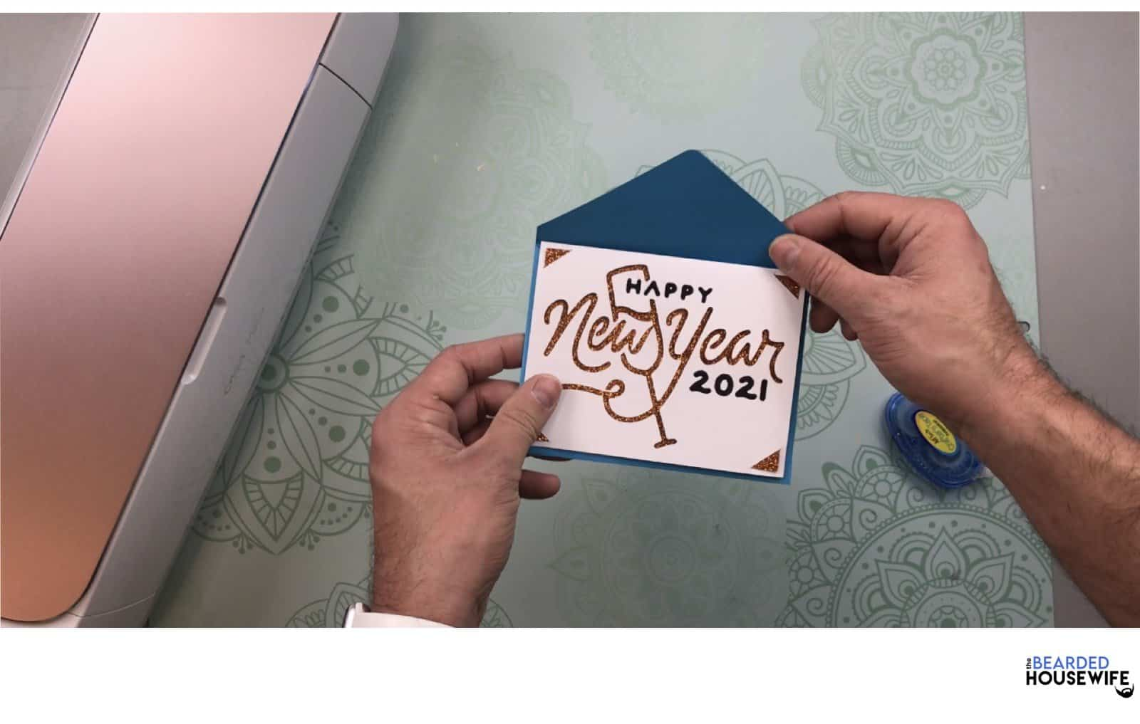 your card is ready to personalize and send