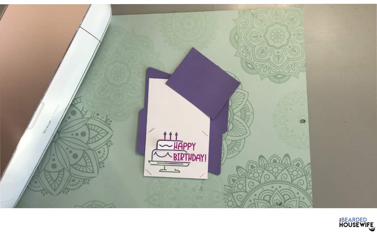 your card is ready for assembly