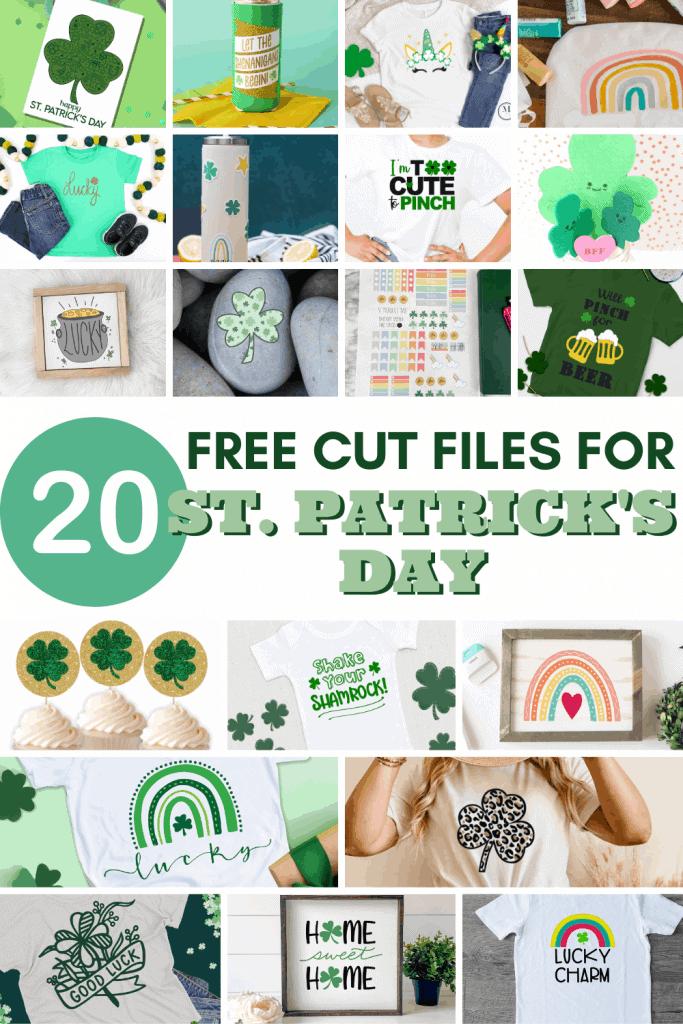 st patricks day cut files