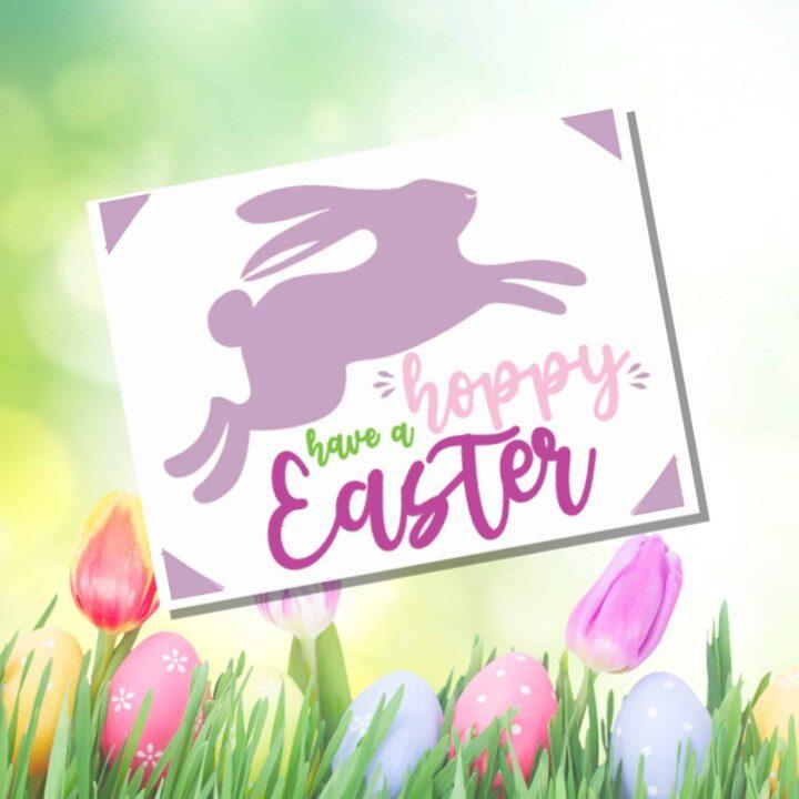 Hoppy Easter Insert Cards