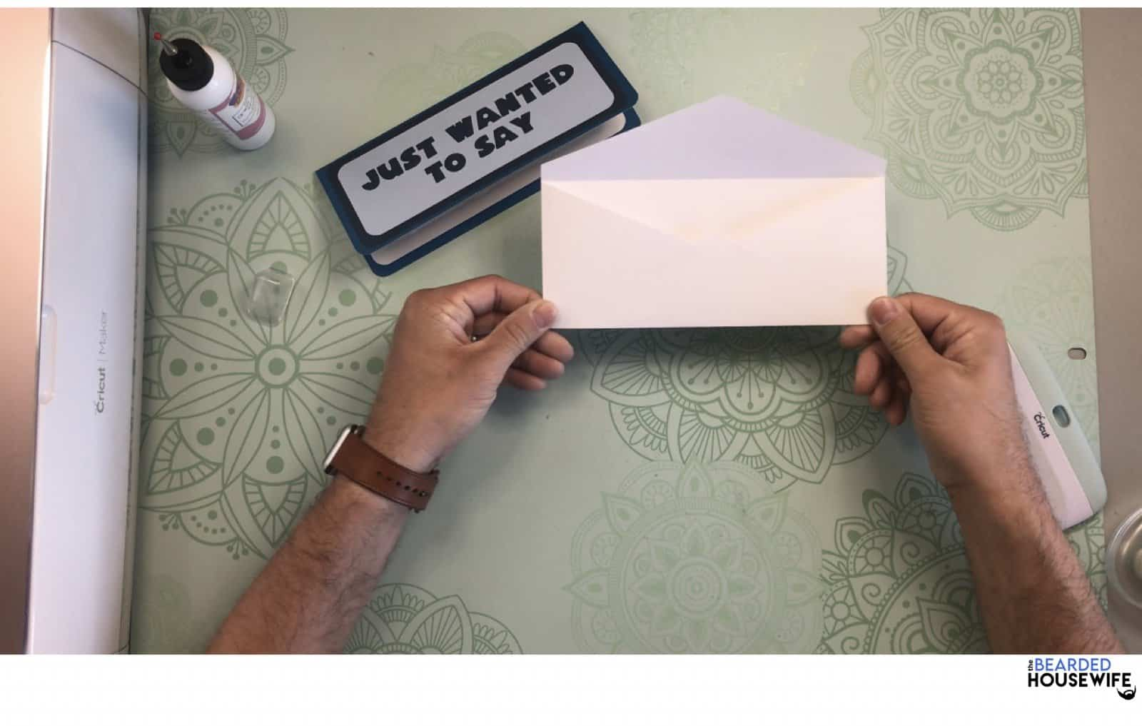your envelope is ready