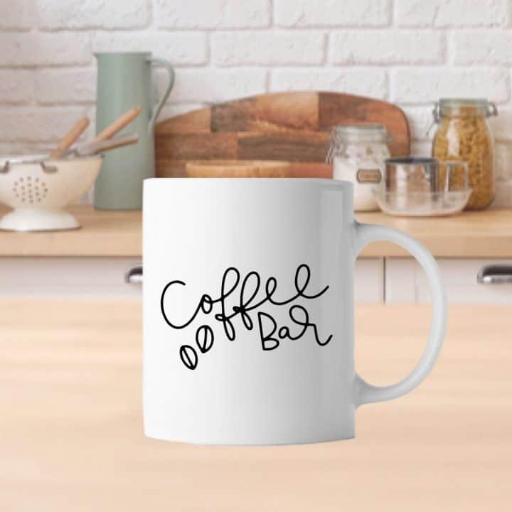Coffee Bar Mug