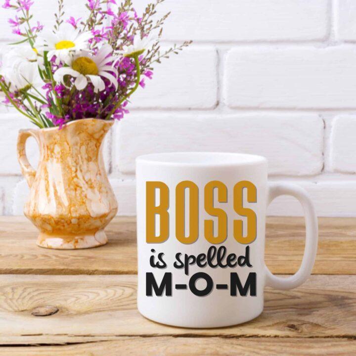 Boss Mom Coffee Mug