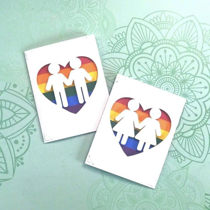 Pride Insert Cards