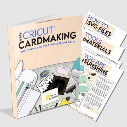 Easy Cricut CardMaking