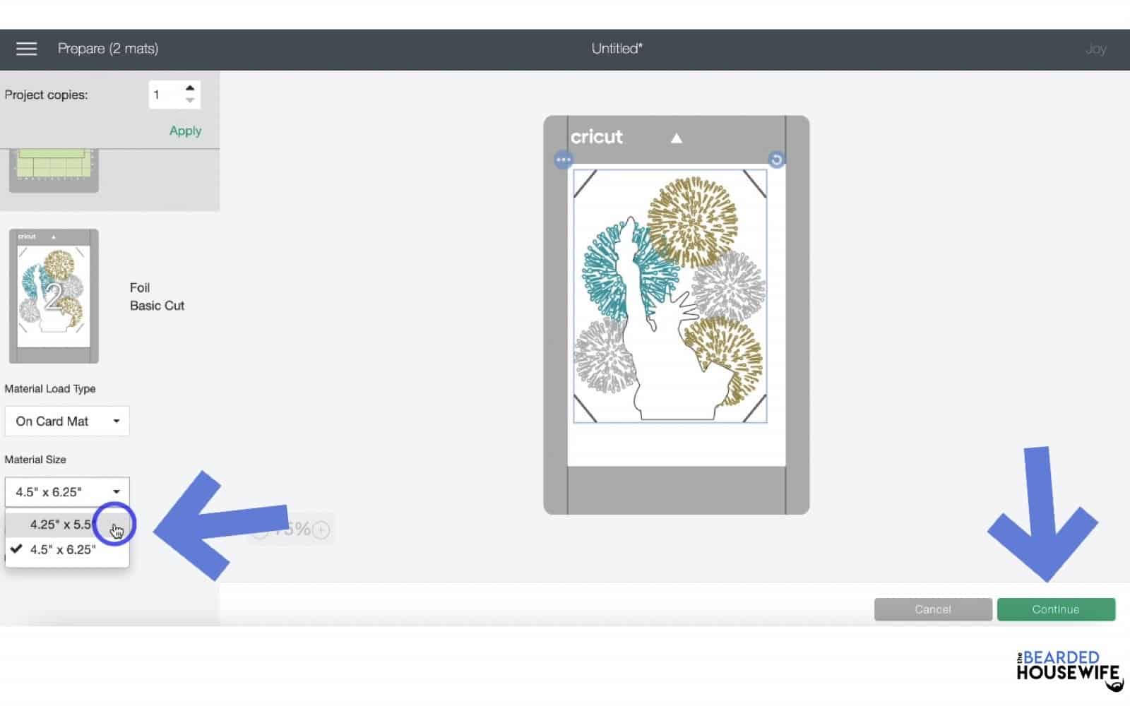 for the card layer, make sure to resize to the 4.25 x 5.5 size
