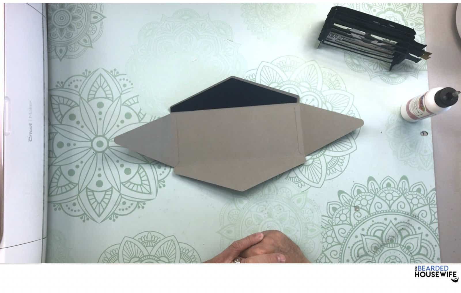 your envelope will look like this