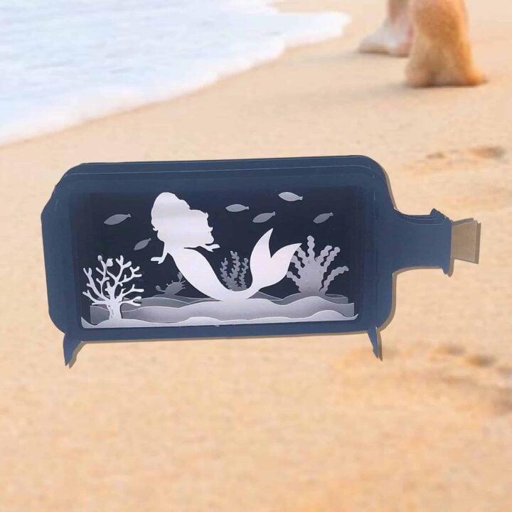 Mermaid in a Bottle Box Cards