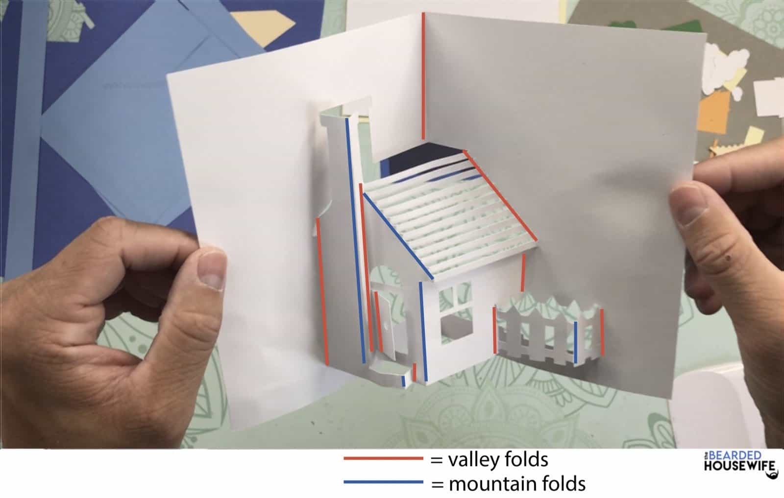 use this guide to help you with your fold lines